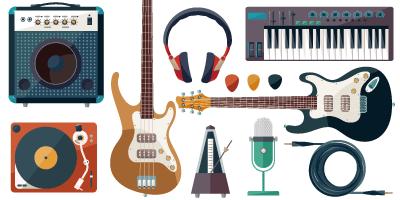 楽器機材各種