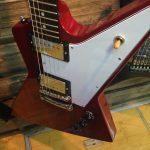 岡山県のお客様からバッカスエクスプローラーギターを買取させて頂きました