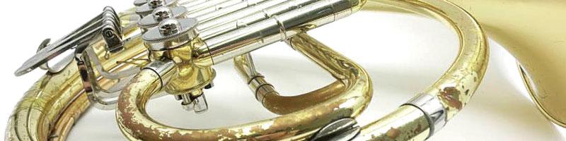 汚れた管楽器も全てOK。