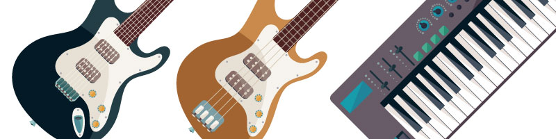 ギター用からベース、アコギ用まで