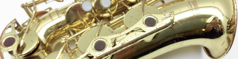ジャンク管楽器の買取
