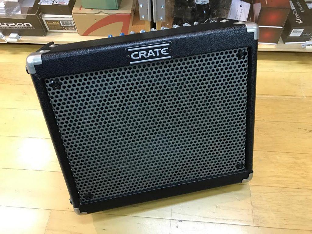 故障したアンプ(CRATE TX50DBJ)を買取させて頂きました。