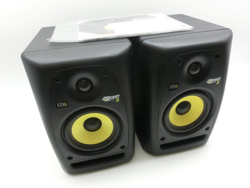 KRK ROKIT5 RP5 G2 モニタースピーカーを買取させて頂きました。