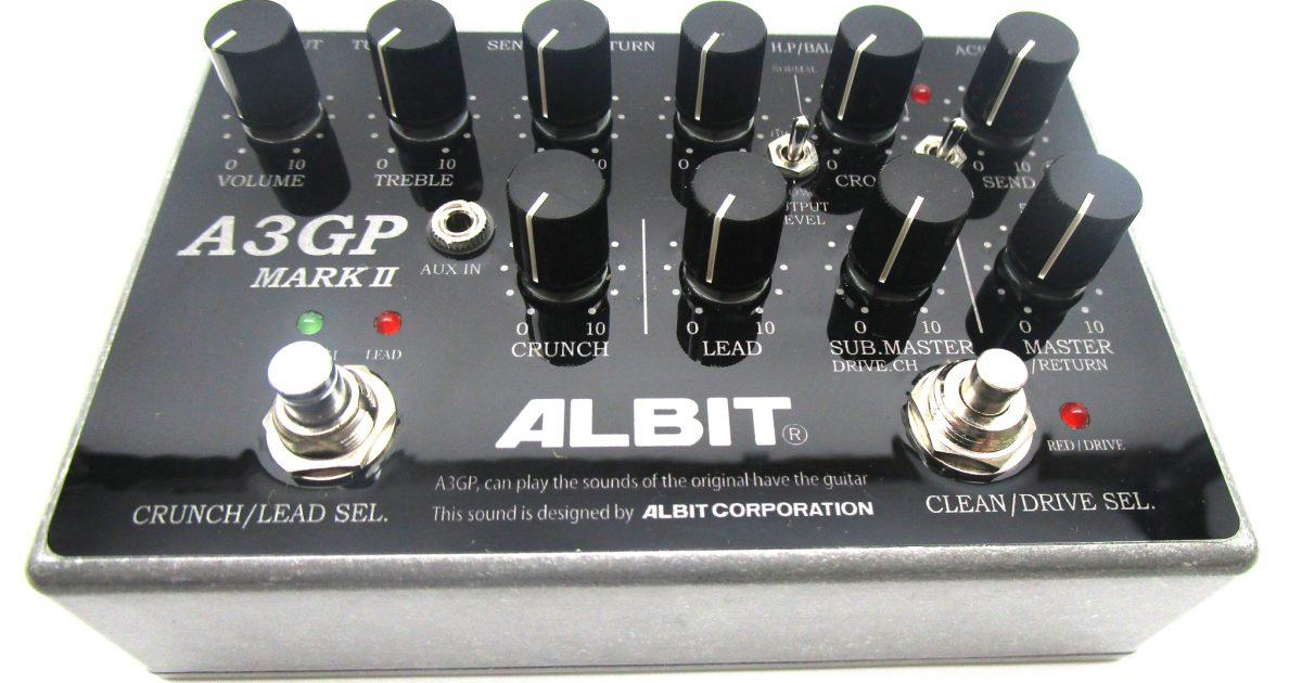 ALBIT A3GP MARK II プリアンプ・エフェクターを買取させて頂きました!