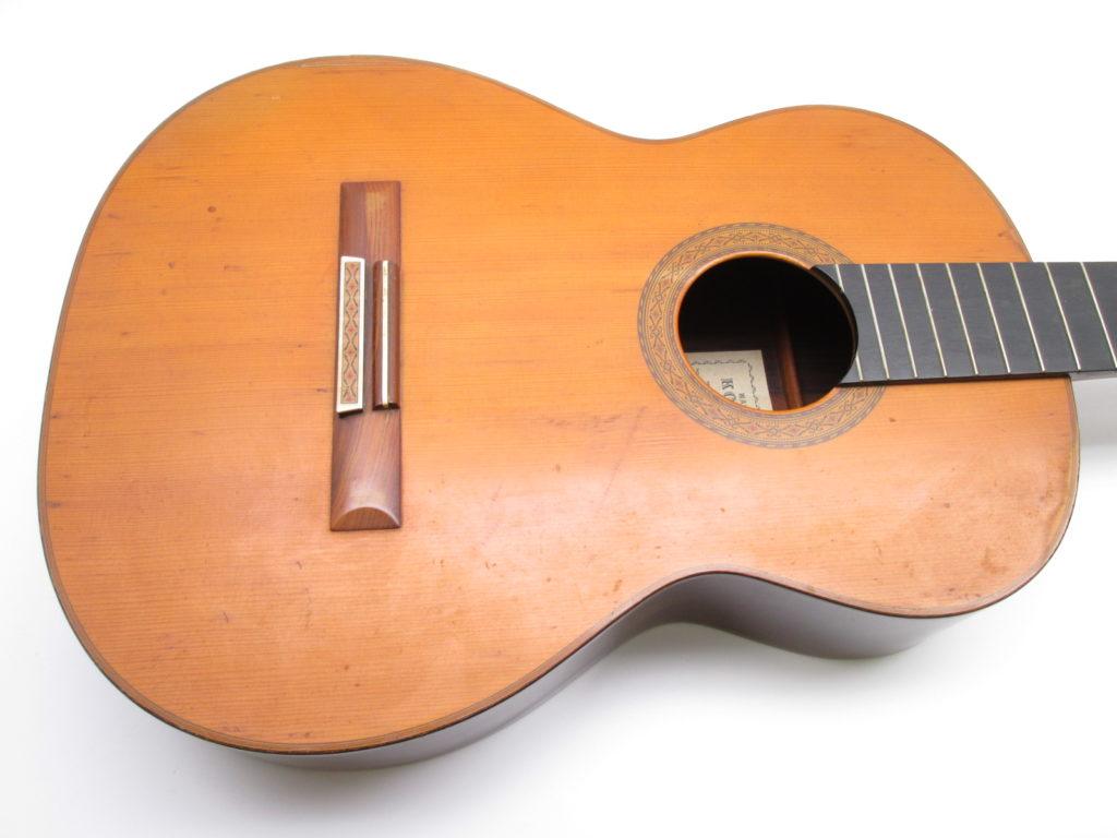 河野賢 no15 1977 クラシックギター ボディ