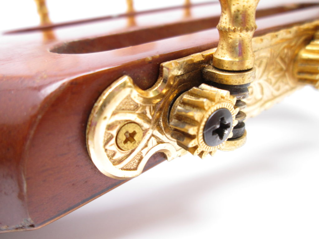 河野賢 no15 1977 クラシックギター ペグ