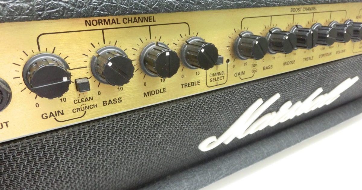 Marshallギターアンプへッド VALVESTATE 8100をお売り頂きました!