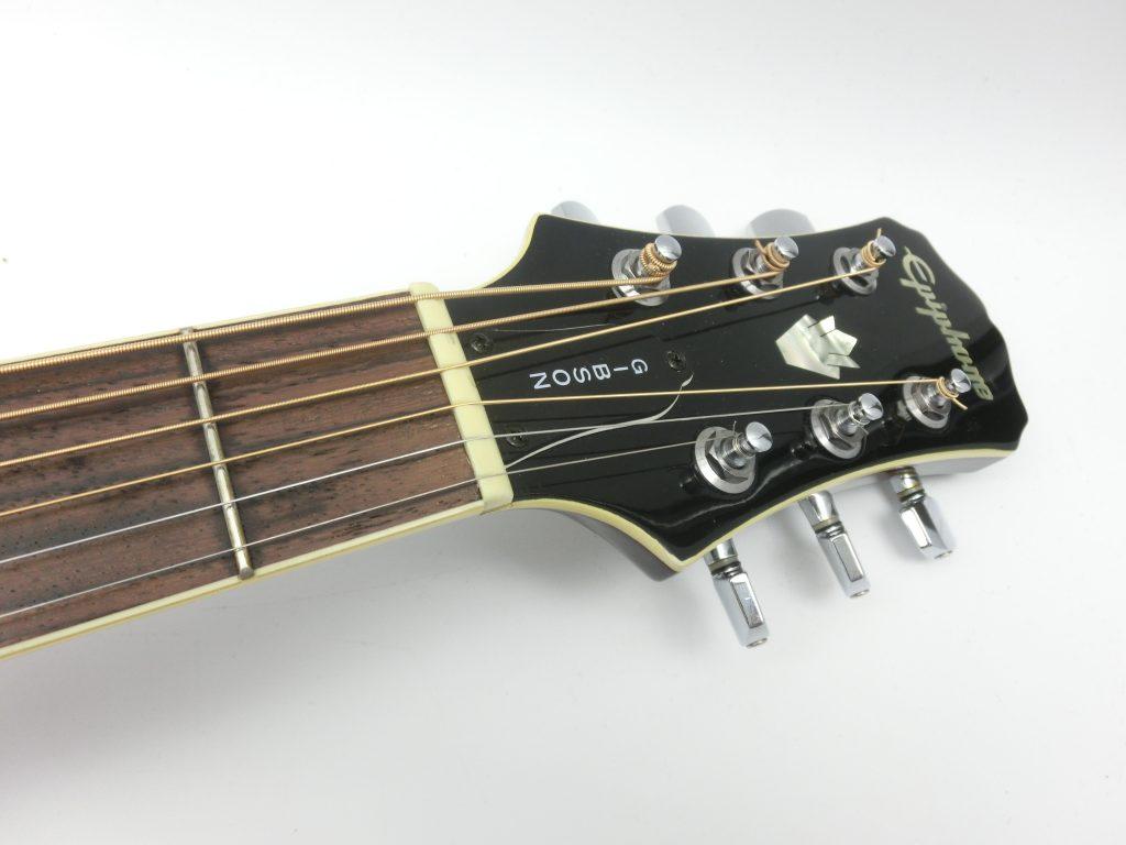 エピフォン エレアコ PR-6Eのヘッド部分