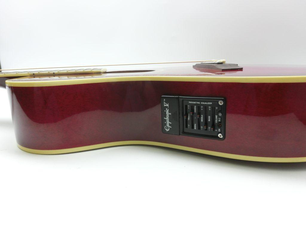 エピフォン エレアコ PR-6Eのコントロールパネル