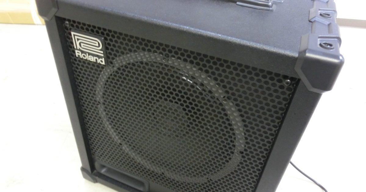 ローランド CUBE120XL ベースアンプを買い取りさせて頂きました。