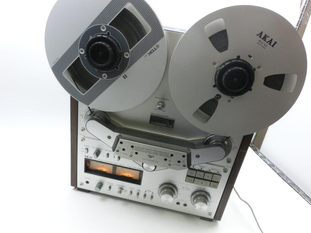 AKAI オープンリールデッキの名器 GX-635Dを買取させて頂きました。