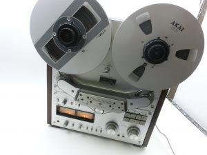 AKAI オープンリールデッキの名器 GX-635Dを買取させて頂きました!