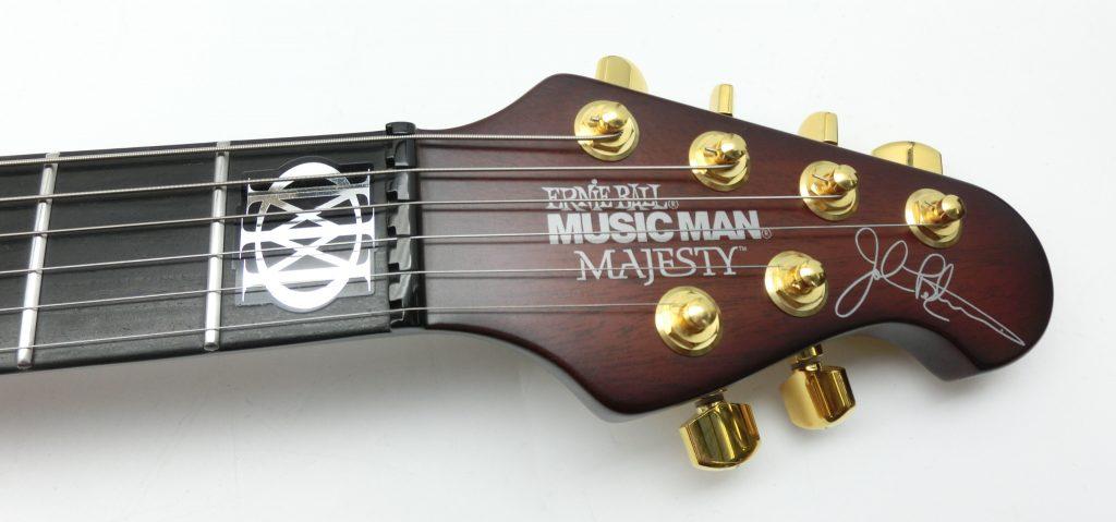 MUSICMAN  MAJESTY TREM MARRONEのヘッド