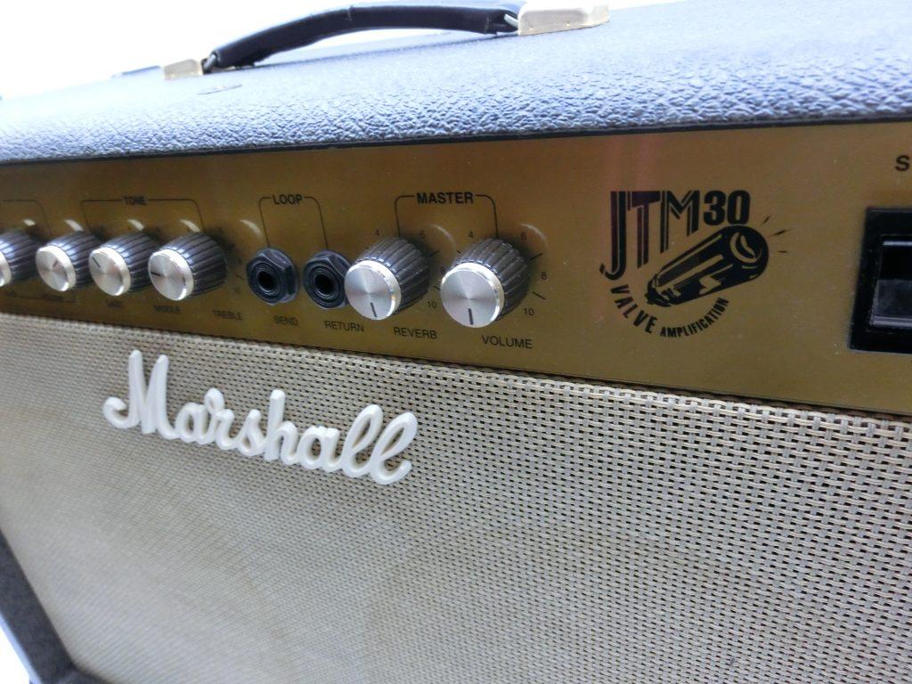 Marshall/マーシャル チューブアンプ JTM30のフロントパネル