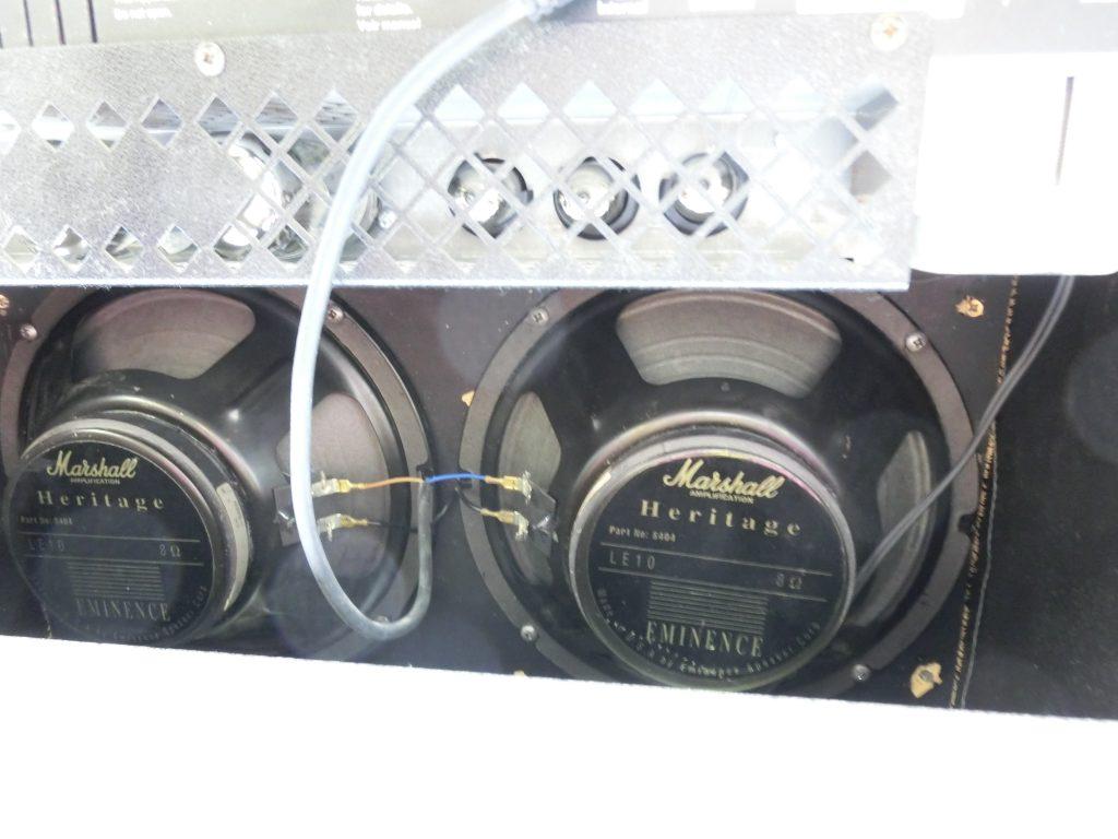 Marshall/マーシャル チューブアンプ JTM30の背面