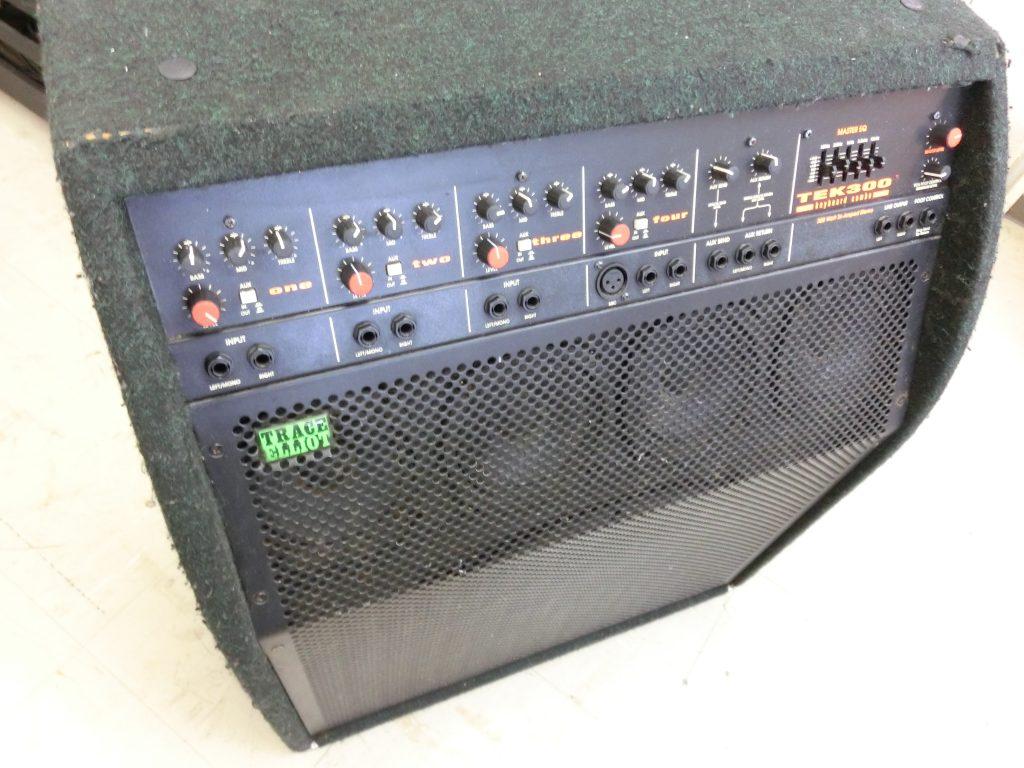 TRACE ELLIOT(トレースエリオット) のキーボードアンプ TEK300を買取頂きました!