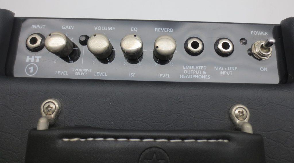 Blackstar HT-1R 真空管ギターアンプコントロールパネル