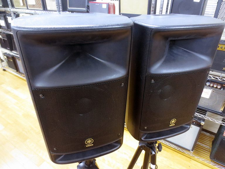 ヤマハ ポータブルPAシステム STAGEPAS500を買取頂きました!