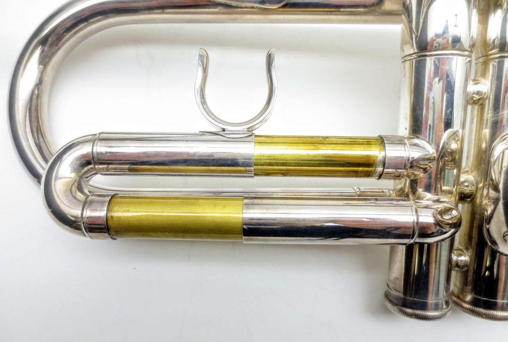 ヤマハ ESTABLISHED IN 1887 YTR4335gの第一抜差管