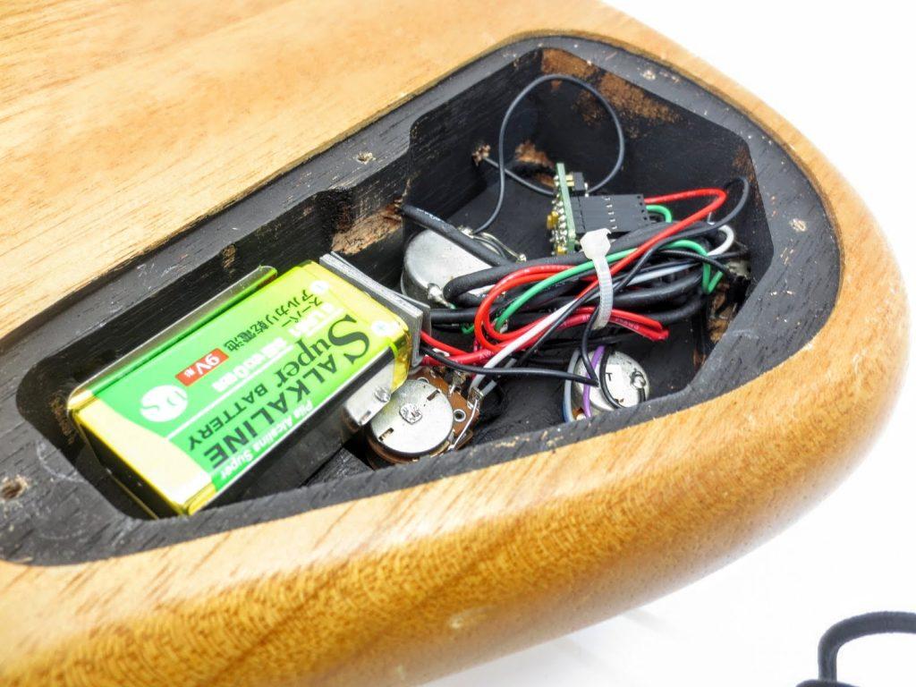 SCHECTER( シェクター) エレキベース ダイヤモンドシリーズ カスタム-4の内部回路