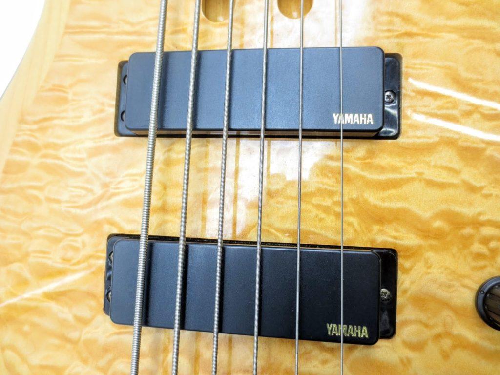 ヤマハ TRB1006 6弦エレキベースのピックアップ