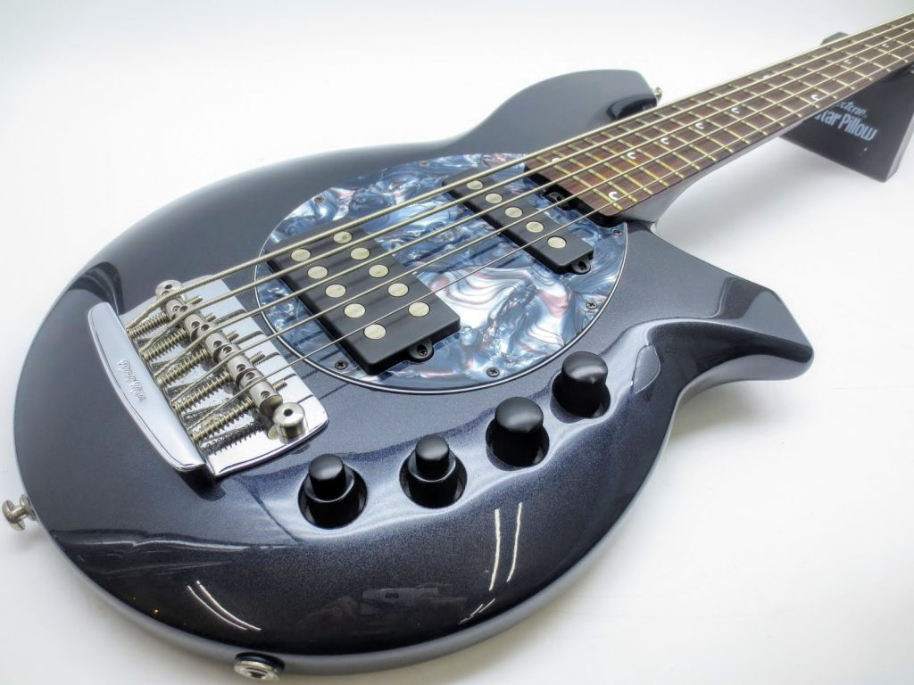 MUSICMAN 5弦ベース BONGO-5 SAB HS MTを買取させて頂きました!