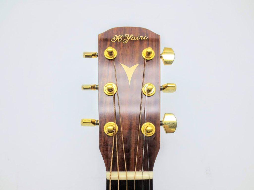 K.YAIRI アコースティックギター RAS-RF OVAのヘッド表