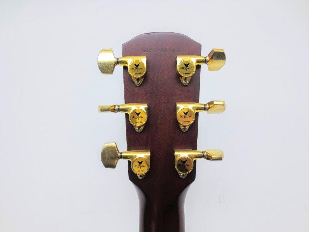 K.YAIRI アコースティックギター RAS-RF OVAのヘッド裏
