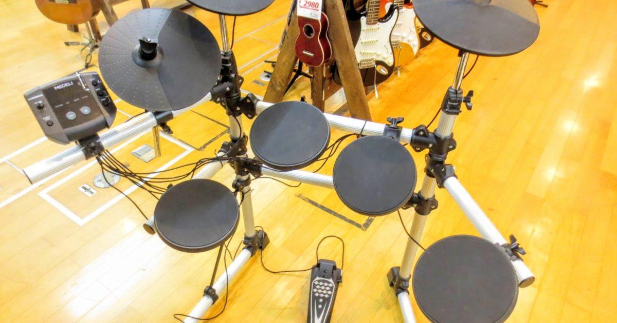 MEDELI(メデリ)の電子ドラム DD402KⅡを買取させて頂きました。
