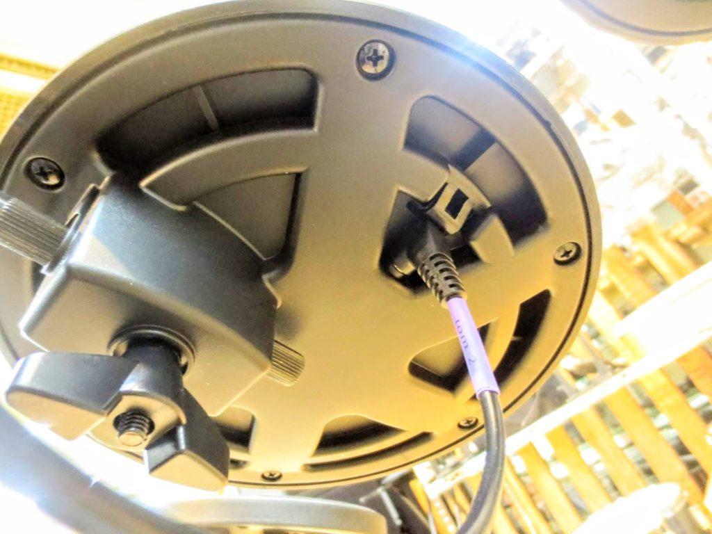 MEDELI メデリ 電子ドラム DD402KⅡのパッド裏