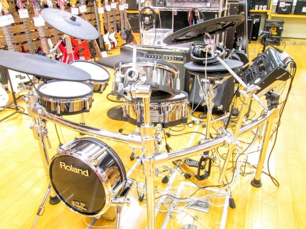 大阪府より、ローランド 電子ドラムセット TD-50KVA V-Drumsを買取させて頂きました。
