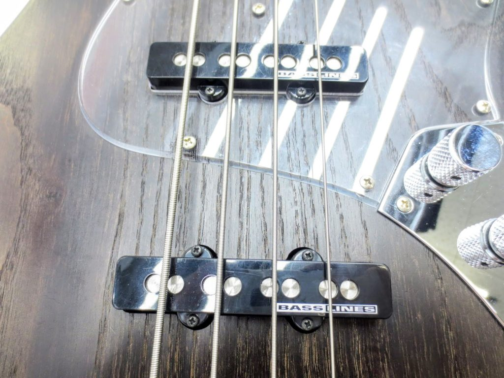Bacchus WOOD LINE ASH4/E ALL-BLKoilのピックアップ
