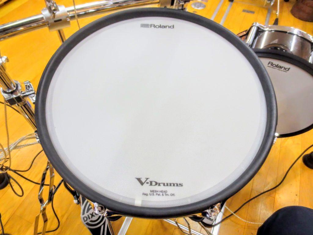 ローランド 電子ドラムセット TD-50KVA V-Drumsのスネア