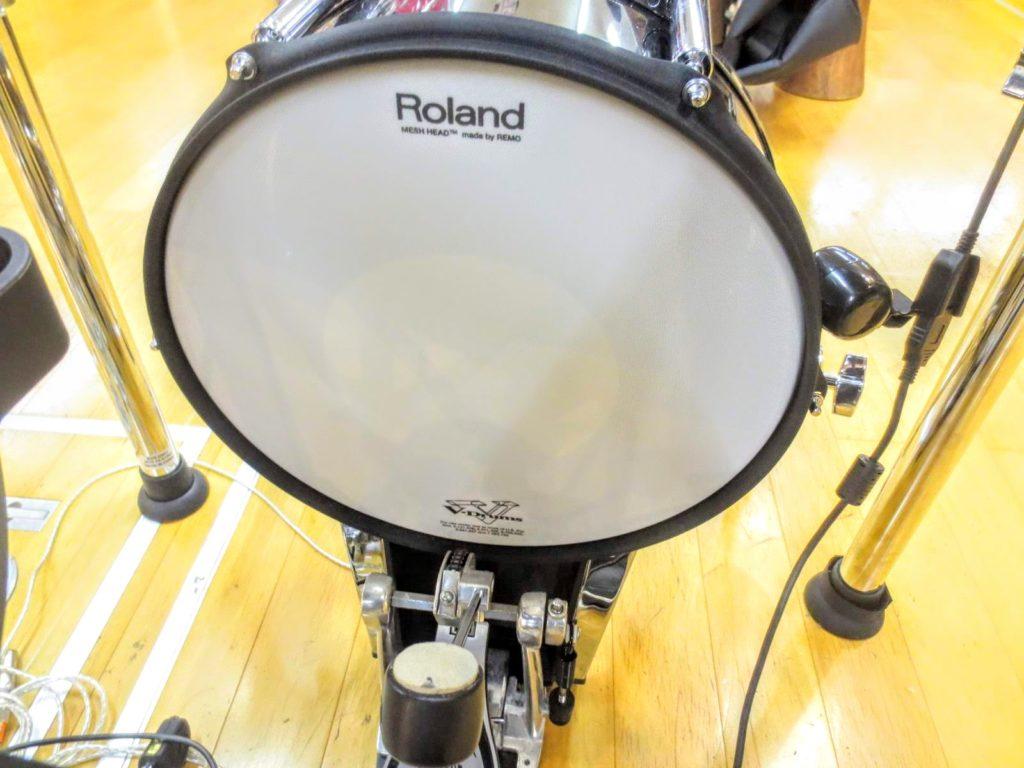 ローランド 電子ドラムセット TD-50KVA V-Drumsのバスドラ