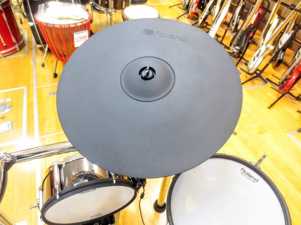 ローランド 電子ドラムセット TD-50KVA V-Drumsのライドシンバル