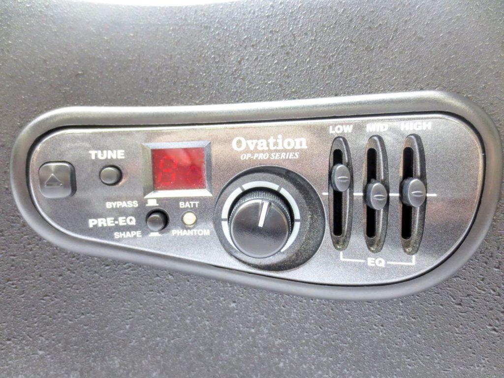 Ovation オベーション 2078TXのコントロール部