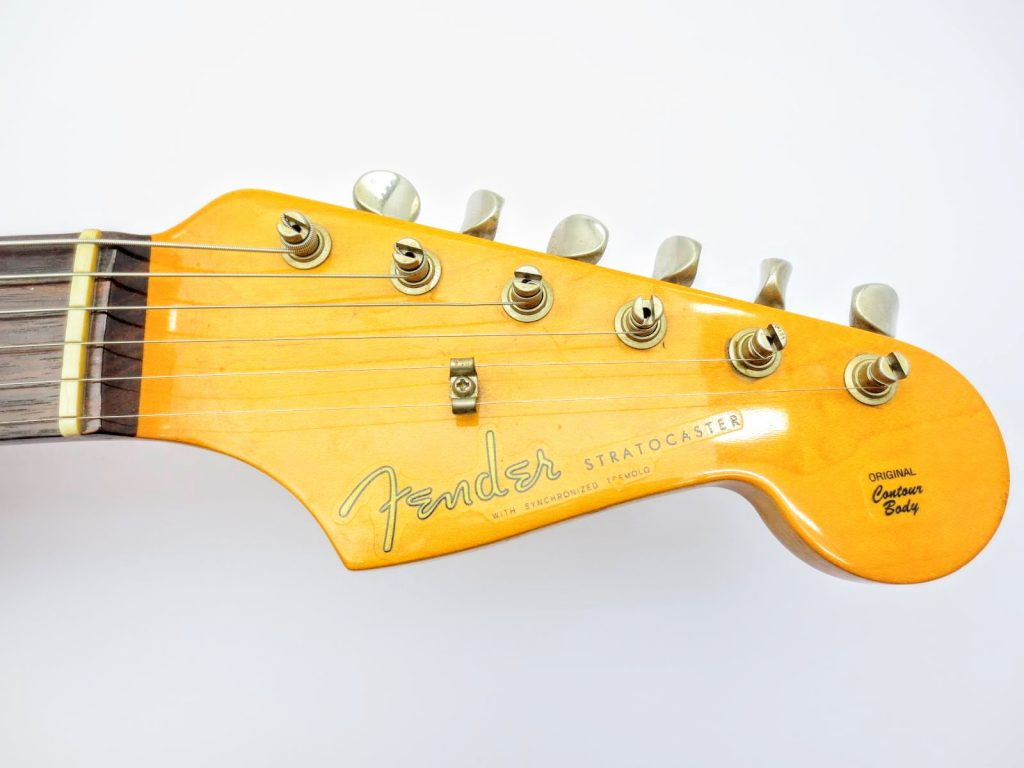 Fender USA Vinstage ST62 Thin Lacquerのヘッド表