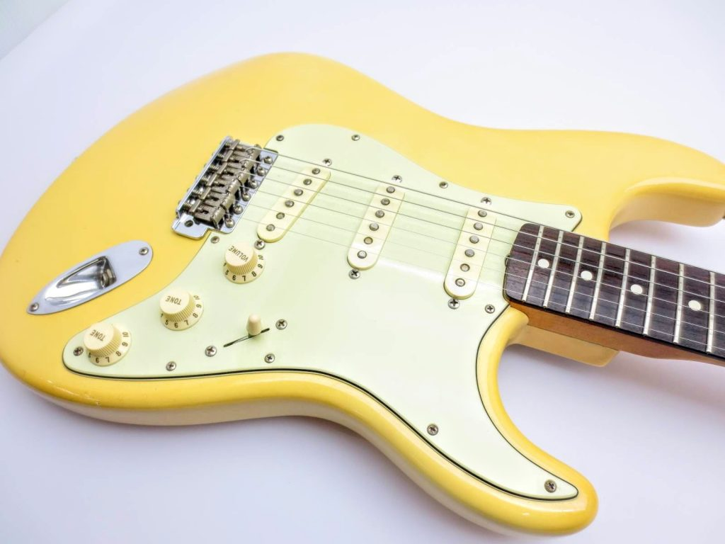 Fender USA Vinstage ST62 Thin Lacquerのボディ