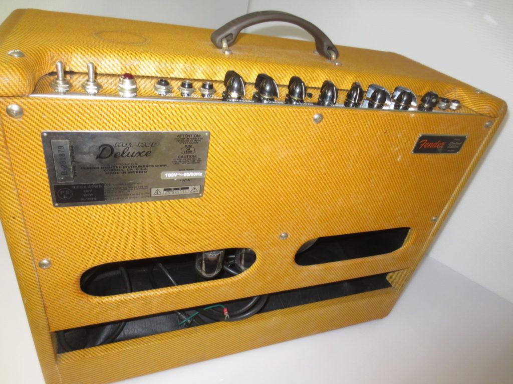Fender Hot Rod Deluxe 背面