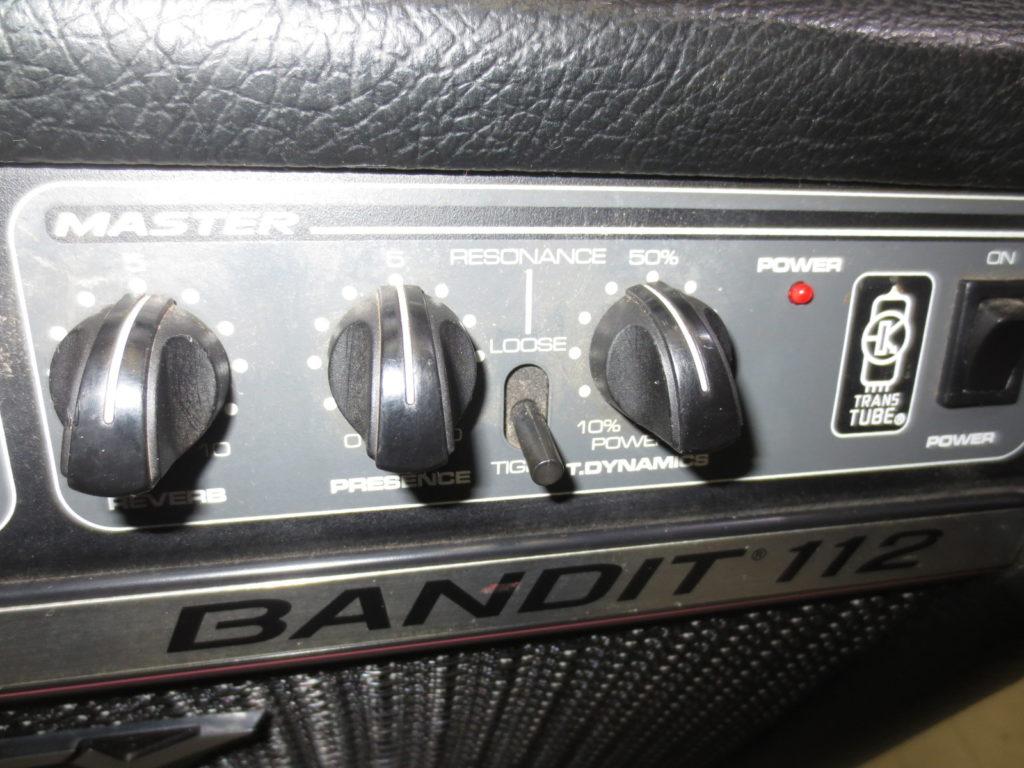 PEAVY BANDIT 112 ギターアンプ コントロールパネル