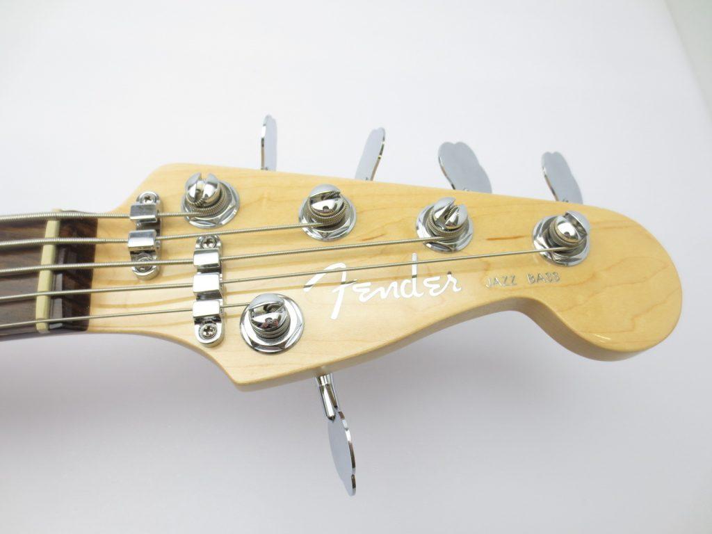 Fender USA American Deluxe Jazz Bass Ⅴ SCN 3 Tone Sunburstのヘッド