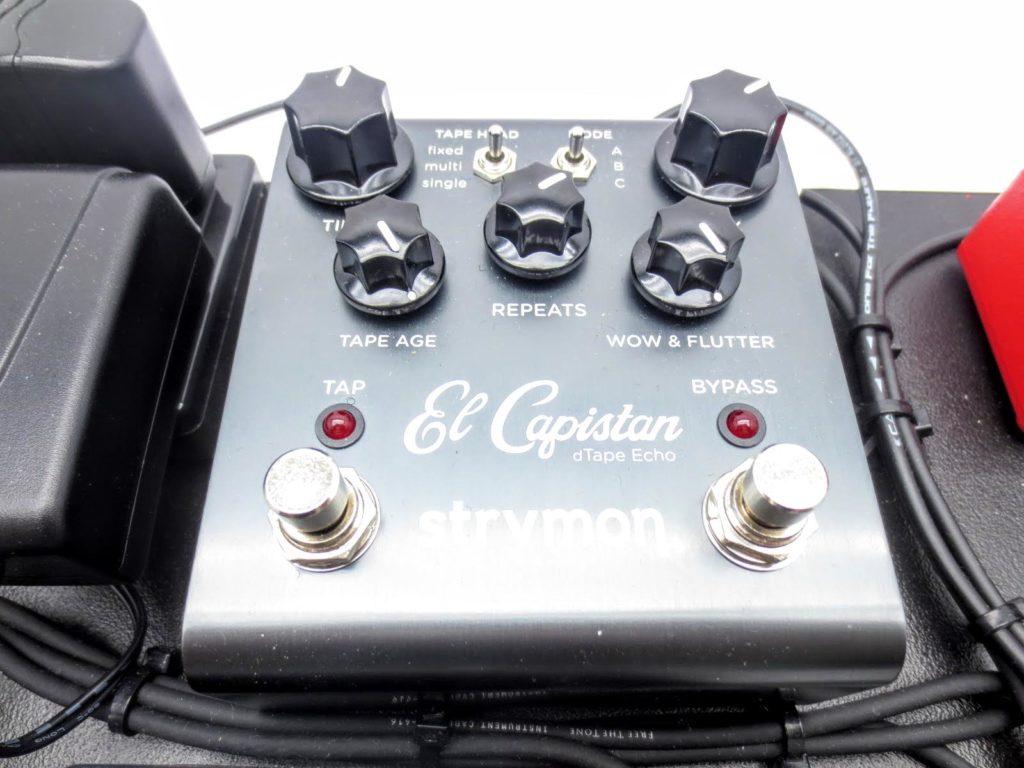 エフェクターボード STRYMON ストライモン El Capistan