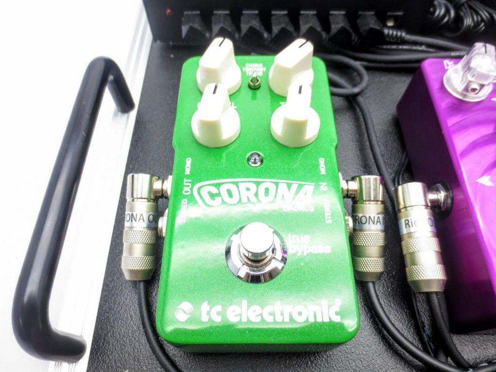 エフェクターボード TC ELECTRONIC Corona Chorus