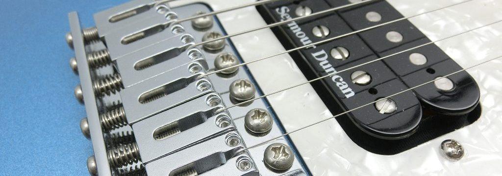 エレキギターブリッジ