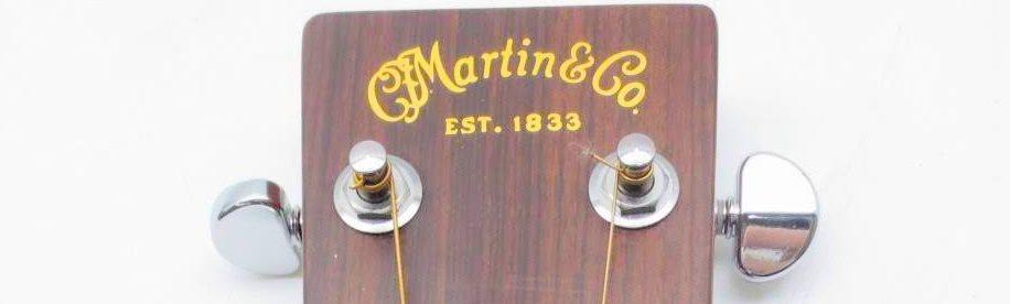 マーチンアコースティックギター ヘッド