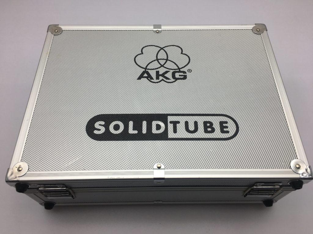 AKG SOLID TUBEハードケース