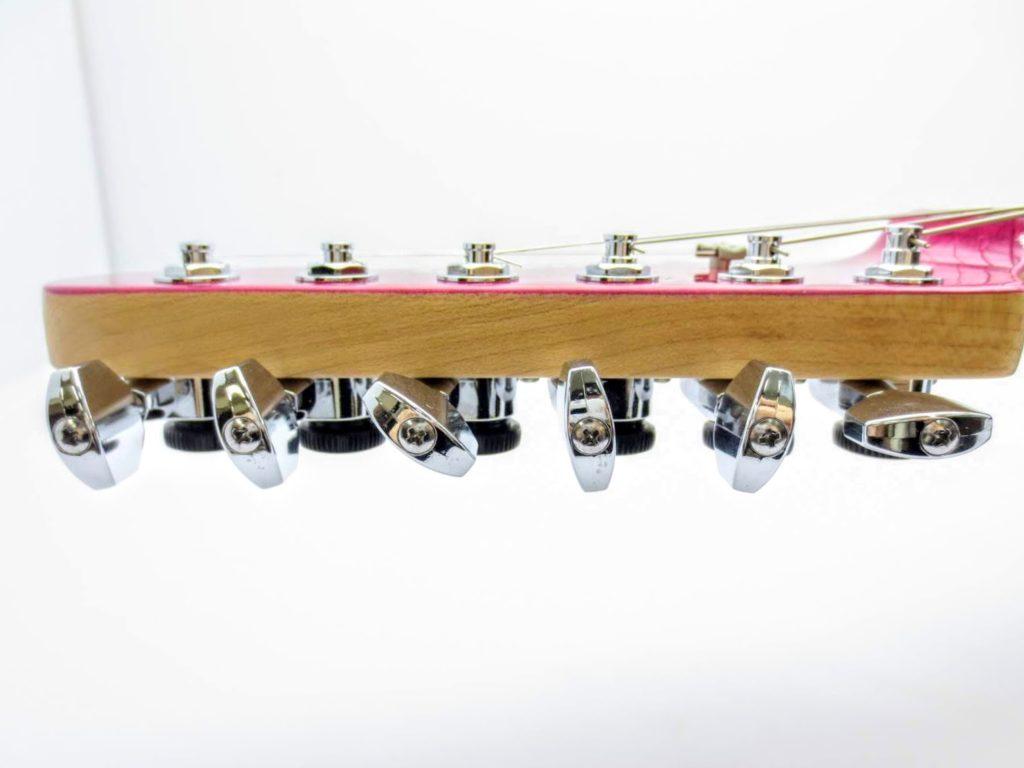 EDWARDSのエレキギターE-SN-125 ヘッドペグ