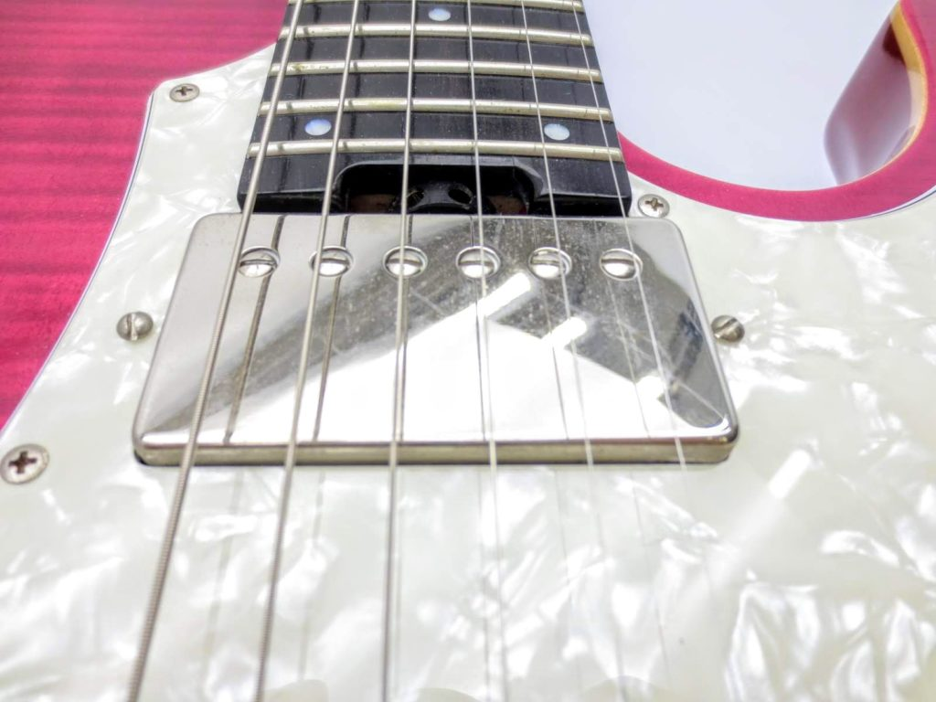 EDWARDSのエレキギターE-SN-125 ピックアップ