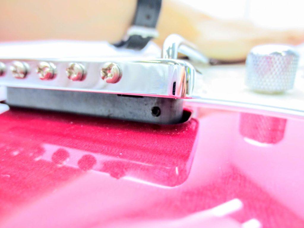 EDWARDSのエレキギターE-SN-125 ブリッジ後部