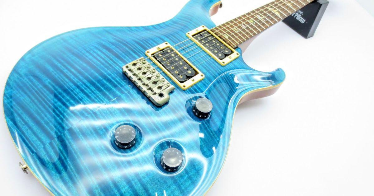 店頭にて、PRS(ポールリードスミス)のギター Custom24 10Topを買取頂きました!